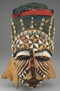 Africa | Ngady Mwaash Mask. DR Congo. c. 1900 AD. | In the Minneapolis Institute of Arts collection