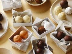 Gift of Homemade Truffles : Struggling for gift ideas as the holiday season approaches