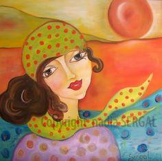 """""""Abie aime le printemps""""  www.nadiasergal.blogspot.com"""
