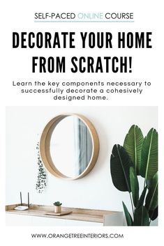 Ever wanted to learn how to decorate your home fast? Well I have developed a condensed online course on how to decorate your home and have it look like a professional did it! Transitional Living Rooms, Transitional Style, Rooms Ideas, Interior Design Courses, Layout, Mid Century Modern Furniture, Midcentury Modern, Farmhouse Lighting, Scandinavian Style