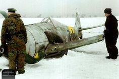 Fw 190A-6 Lt. Hans Dortenmann. 2./JG 54. Orscha in Russia, 6th Feb 1944. Colourised by Joshua Barrett (UK)
