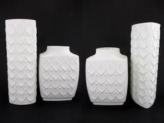 Vintage Vasen-Set (2 Stück) / AK Kaiser / Modell 180 und 183 | West German Pottery | 70er von ShabbRockRepublic auf Etsy