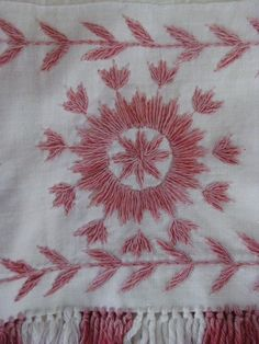 Nordic embroidery