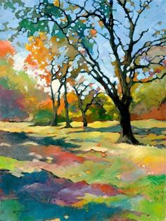 Karen Mathison Schmidt - Every Blessing #tree #landscape #art