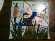 Diy stained glass patterns. Dragonfly for my stepmother