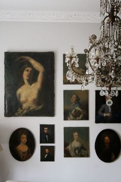 Portrait painting gallery