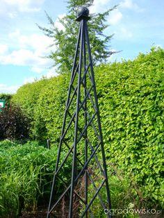 Galeria zdjęć - Podpory dla roślin - obelisk - Ogrodowisko