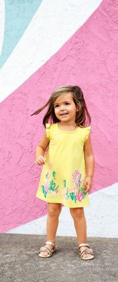 Shop Tea Collection's Baby Girl dresses in all new Aussie-inspired prints and patterns!