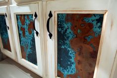 Copper Cabinets and Bathroom Shower Tutorial