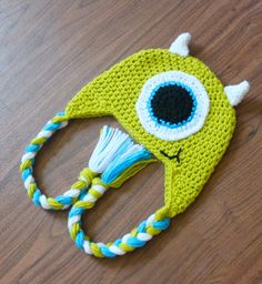 Monsters INC inspired hat by CapricesPieces on Etsy, $20.00