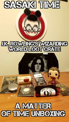 c83a2aff34f J.K. Rowling s Wizarding World Loot Crate - A Matter of Time Unboxing