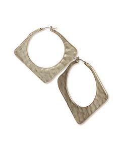 RACHEL Rachel Roy Square Hoop Earrings at Macy's