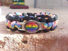 """Gay Rights Gay Pride You can't buy these on etsy anymore. Search """"dave's paracord"""" on fb."""