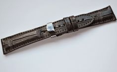 #handmade #alligator #watchstrap  Business inquiries & orders at:  ~ christianstraps@gmail.com or cureledeceas@gmail.com   ~ Whatsapp: +40 737 472 022   ~~Instagram: christianstraps Fossil, Christian, Watches, Business, Leather, Handmade, Accessories, Instagram, Hand Made