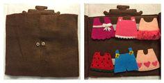 Quiet book: Hello Kitty dress up wardrobe
