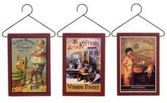 Vitage Laundry Detergent   ... Country-Colonial-VINTAGE-ADVERTISING-LAUNDRY-SOAP-SIGNS-Plaque-Hangers