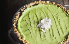 Raw & Vegan Key Lime Pie #Recipe #Vegan #Raw by @Andrew Davis