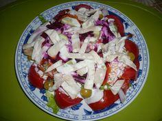 En la cocina con Ana : Dieta PP : Ensalada de Pollo Con Salsa César