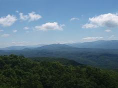 View From Look Rock, Great Smoky Mountains National Park 6/14/2013