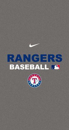 Texas Rangers Baseball iPhone Wallpaper