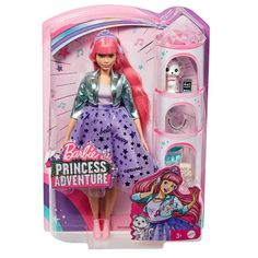 Superb Barbie Princess Adventures Deluxe Princess Daisy Doll Now at Smyths Toys UK. Shop for Barbie At Great Prices. Princess Barbie Dolls, Barbie Doll Set, Barbie Sets, Barbie Sisters, Doll Clothes Barbie, Barbie Doll House, Barbies Dolls, Baby Girl Toys, Toys For Girls