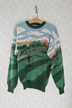 Vintage 1980s Golf Course + Crewneck Sweater - closiTherapi