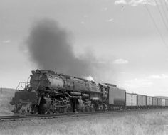 UP train, engine number 4015, engine type 4-8-8-4 :: Western History