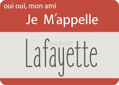 'oui oui, mon ami, je m'appelle Lafayette' Sticker by hamilshot French Greetings, Hamilton Musical, Oui Oui, Really Funny Memes, Musicals, Finding Yourself, Broadway, Sticker, Band