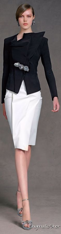 Donna Karan - (Business) Office wear to business dinner meetings.