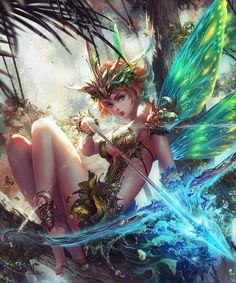 Elf Warrior by antilous on DeviantArt