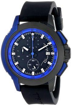 Ritmo Mundo Unisex 1151/2 Blue Quantum Sport Quartz Chronograph Aluminum Accents Watch