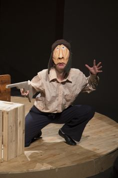 Photograph by Danielle Bischoff: Taryn Bennet in The Snow Goose - Grahamstown 2013 Snow Goose, Puppets, Theatre, African, Play, Photography, Photograph, Theatres, Fotografie