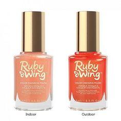 Ruby Wing Silk Sheets Color Changing Nail Polish