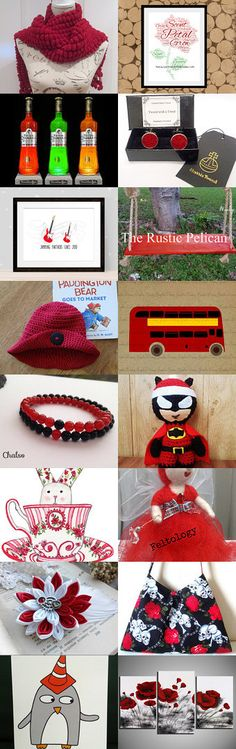 Red Roses by Moira Lawrance on Etsy--Pinned+with+TreasuryPin.com