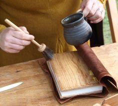Kopert - medieval bookbinding
