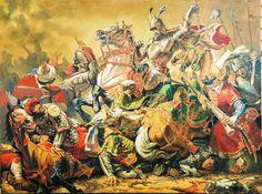 Michael the Brave and Sinan Pasha, by Marius Burlan