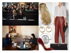 """""""Attending a meeting with members of Scottish Women's Aid"""" by alexandraofwales ❤ liked on Polyvore featuring ADAM, ZoÃ« Chicco, Links of London, Prada and Rupert Sanderson"""