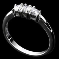 E-BOUTIQUE  Liguori, Collezione Bridal Trilogy - LAG2630 Anello in oro bianco 18 kt. griffes a filo. www.liguorigioielli.it/#/65/1/anello_trilogy_roma_collezione_bridal_liguori_gioielli-65 #liguorigioielli #gioielli #jewels #roma #italy #bridal #anello #weddingring #love #trilogy  Il tempo testimone di rinnovato amore.
