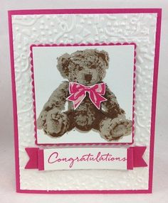 Stampin' Up! Baby Bear - The Stamp Camp