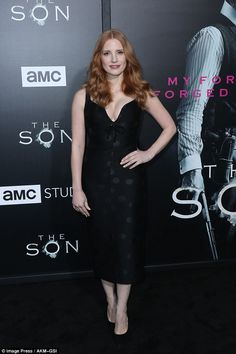 Jessica Chastain joins the cast of The Son for the season premiere #dailymail