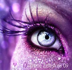 purple on purple