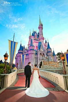 Disney World wedding :)  Ever since I was a little girl, all I could think about was getting married here!!!