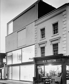 Tony Fretton, Lisson Gallery, 1992