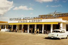 Elliniko International Airport the former Athens airport from around 1930 until it was closed in March 2001 Attica Athens, My Athens, Athens City, Athens Greece, Attica Greece, Old Pictures, Old Photos, Bauhaus, Olympic Airlines
