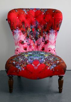 Timorous Beasties // Omni Drip nursing chair