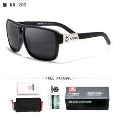 b20028dda860 Kdeam Sunglasses Men Sport Hd Polarized Square Reflective Brand 6 Colo –  FuzWeb