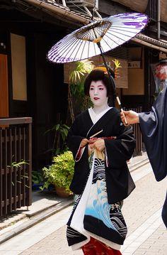 Geiko in Kyoto, Japan