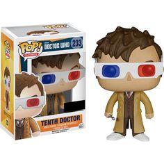 La figurine pop Dixième Docteur avec lunettes 3D en détails : notez, commentez et parlez de Dixième Docteur avec lunettes 3D avec les autres membres. Où acheter ou trouver la figurine Dixième Docteur avec lunettes 3D de la collection Doctor Who.