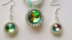 mohito pendant with earrings