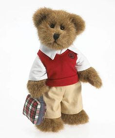 Love this School Bear Plush Figurine on #zulily! #zulilyfinds